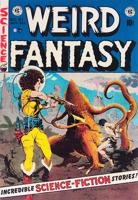 WEIRD FANTASY Cover Art by Al Williamson & Frank Frazetta