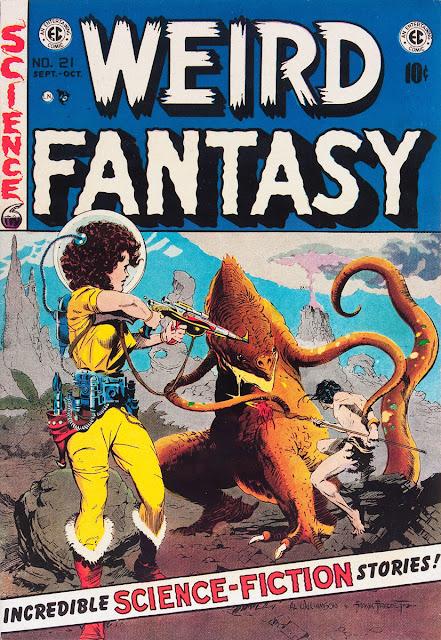 WEIRD FANTASY Cover Art by Al Williamson & Frank Frazetta