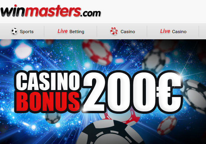 Winmasters Casino Screen