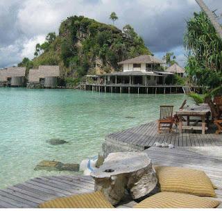 Misool Eco Resort, Resort Menenangkan Pikiran