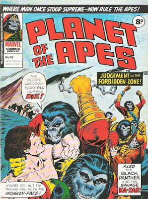 Marvel UK, Planet of the Apes #76