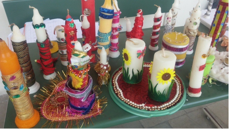 Candle Decoration Part - 42: Diwali Is The Most Important Festival In India Wherein People Decorate  Their Homes With Decorative Material Like Lanterns, Door Danglers, Candles,  ...