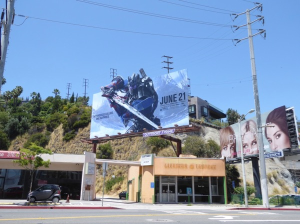 Transformers Last Knight cutout billboard