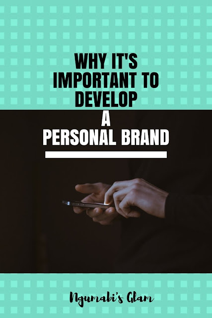 Why it's Important to Develop a Personal Brand