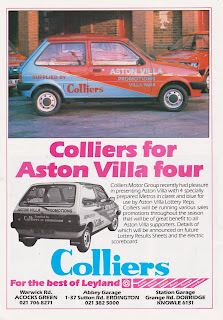 Colliers 1982 advert