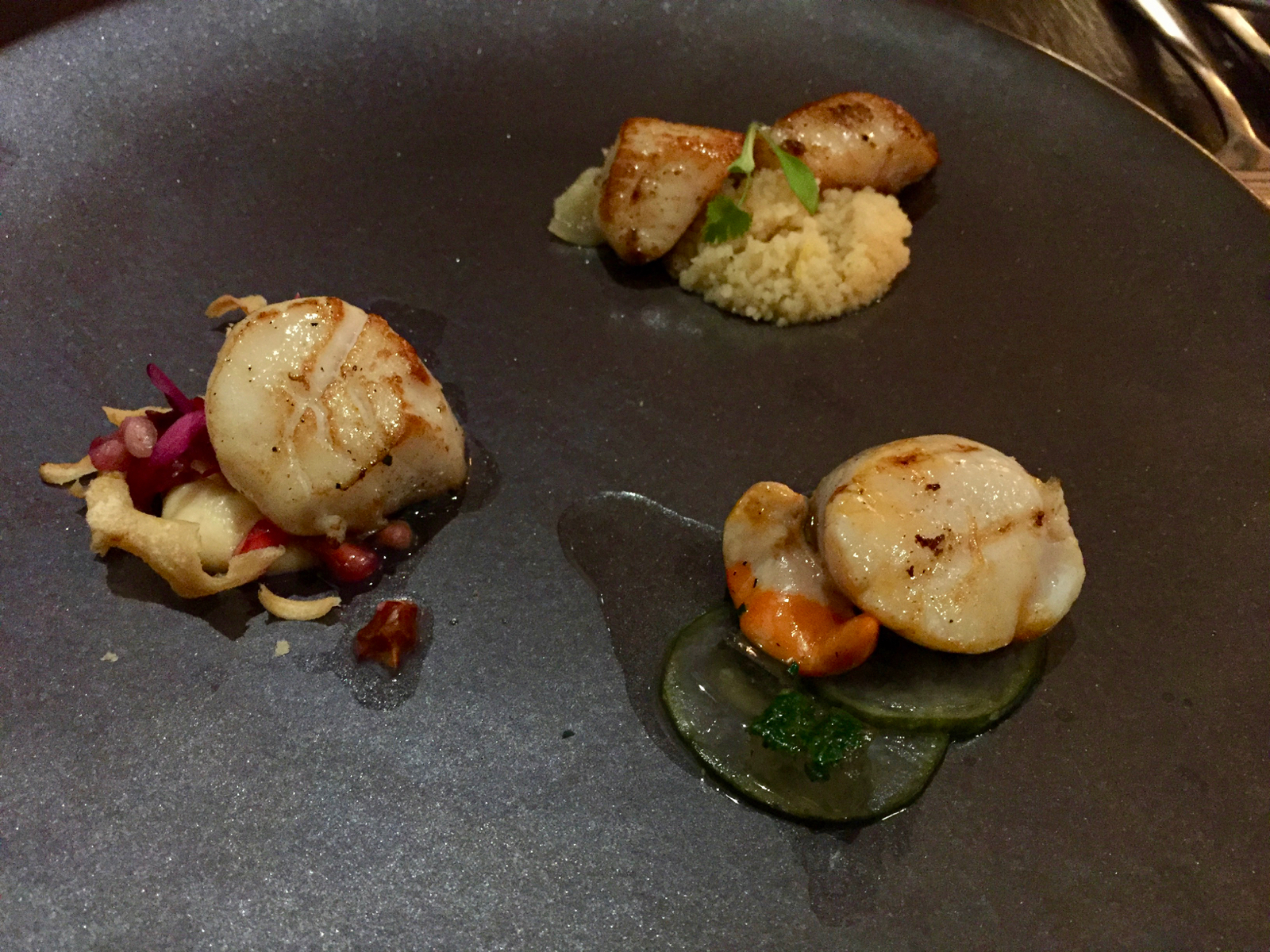The Landgate Bistro - Scallop Tapas
