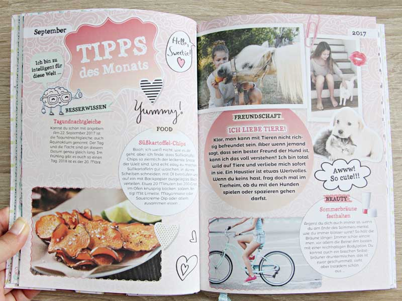 Kirschkuchen: [Review] Schülerkalender mit Faye Montana