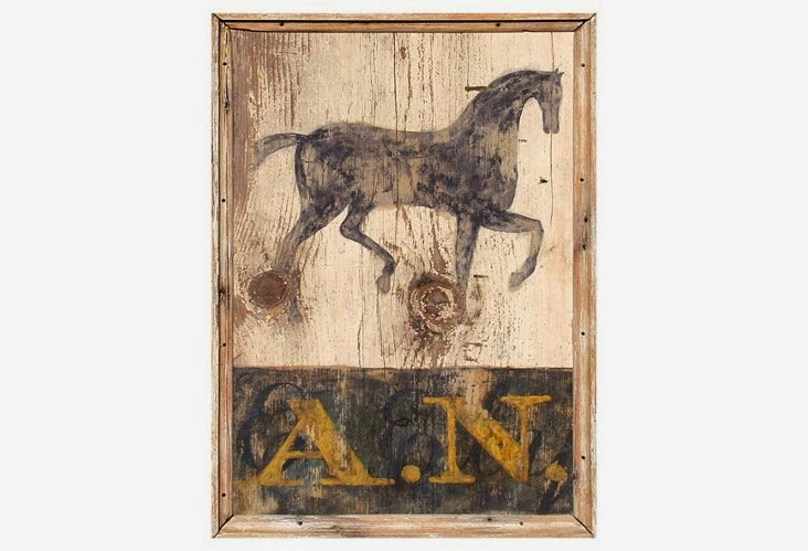Horse Country Chic One Kings Lane Equestrian Inspired Decor