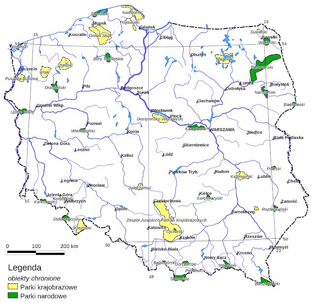 Parki narodowe w Polce