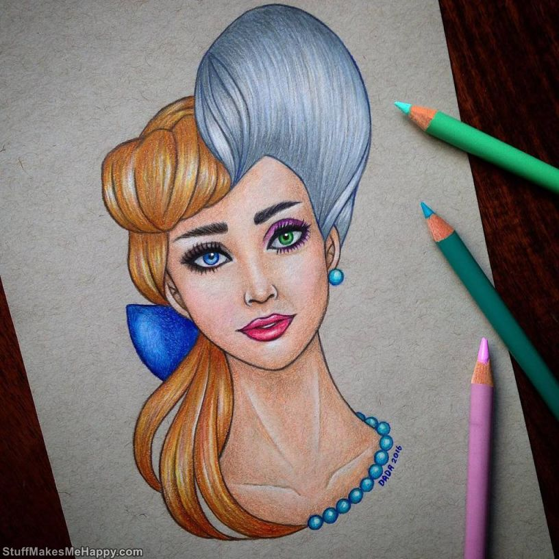 15. Cinderella and the Fairy godmother