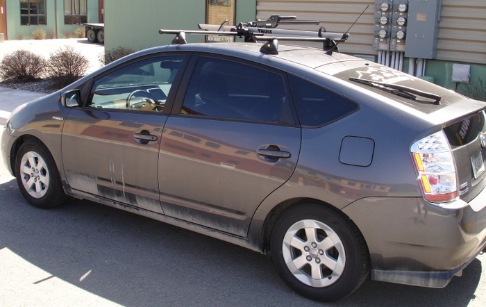 Custom Roof Rack For 2006 Toyota Pruis Backcountry Racks
