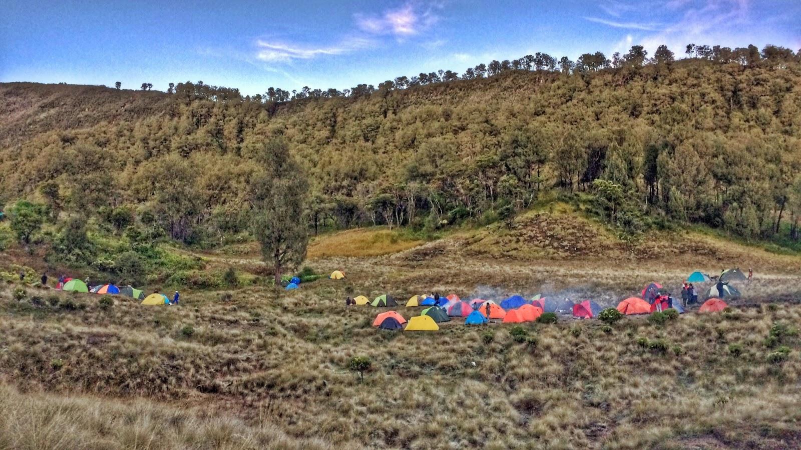 Jalur Pendakian Gunung Butak Via Panderman Basecamp Pendaki