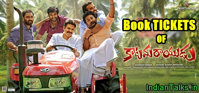 Katamarayudu Movie Tickets Online Booking Started