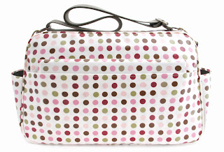 Sophia & Matt, changing bag, polka dot, spotty, diaper bags