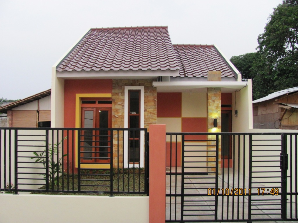 Gambar Rumah Minimalis 1 Lantai Type 21 Desain Rumah Minimalis