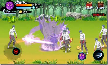 Naruto mobile fighter