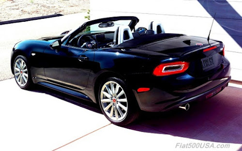 2017 Fiat 124 Spider rear quarter