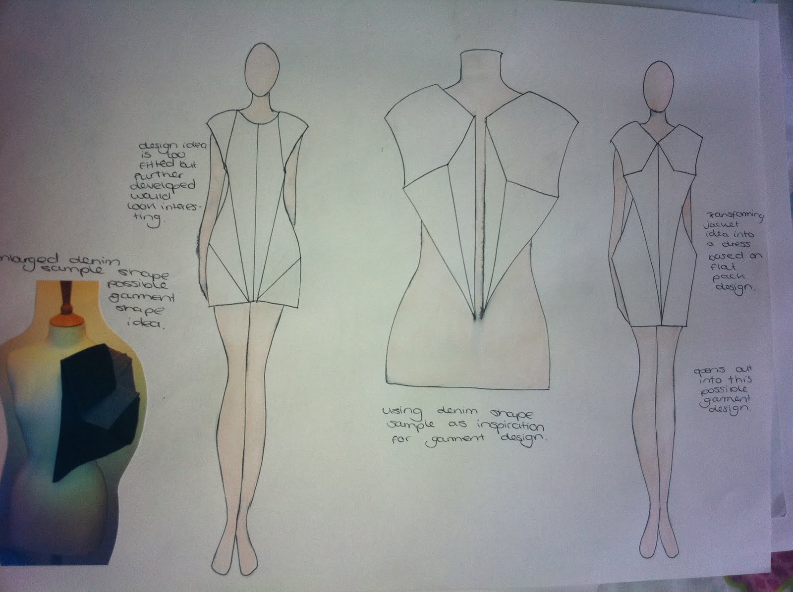Fashion Diary Interdisciplinary Week 3 And 4 Concept And Design Development