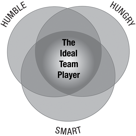 The Ideal Team Player - Model
