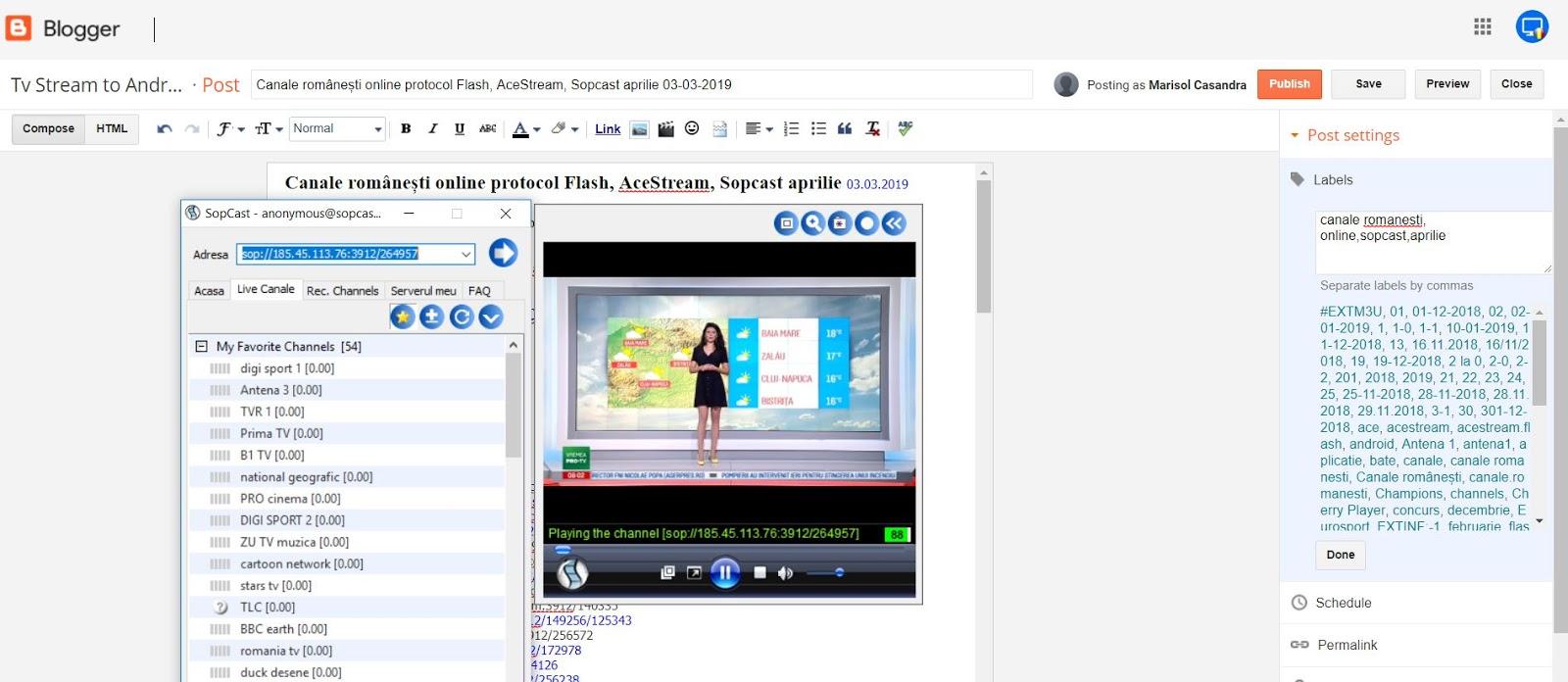 Antena 1 sopcast link