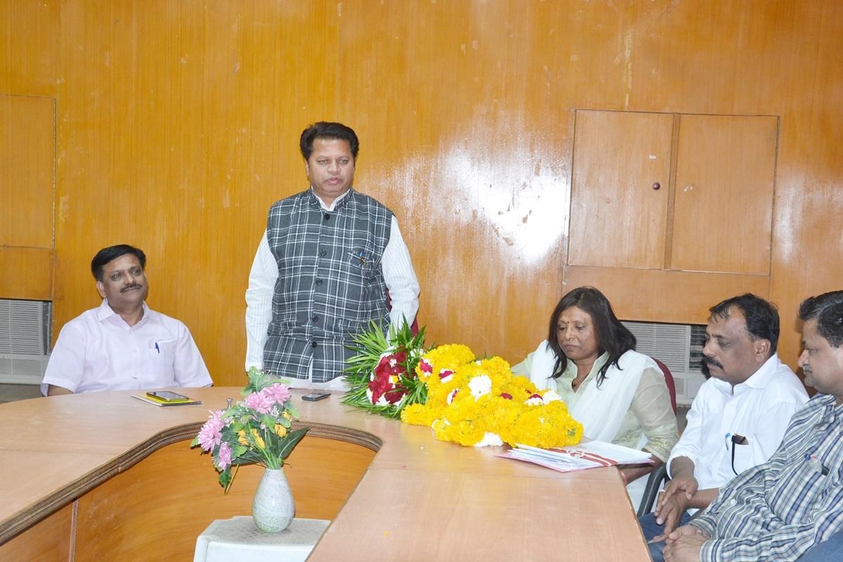 जिला सहकारी केन्द्रीय बैंक द्वारा नवागत उपायुक्त श्रीमती शेखावत का स्वागत किया गया-new-Deputy-Commissioner-was-welcomed-by-the-ccb-jhabua