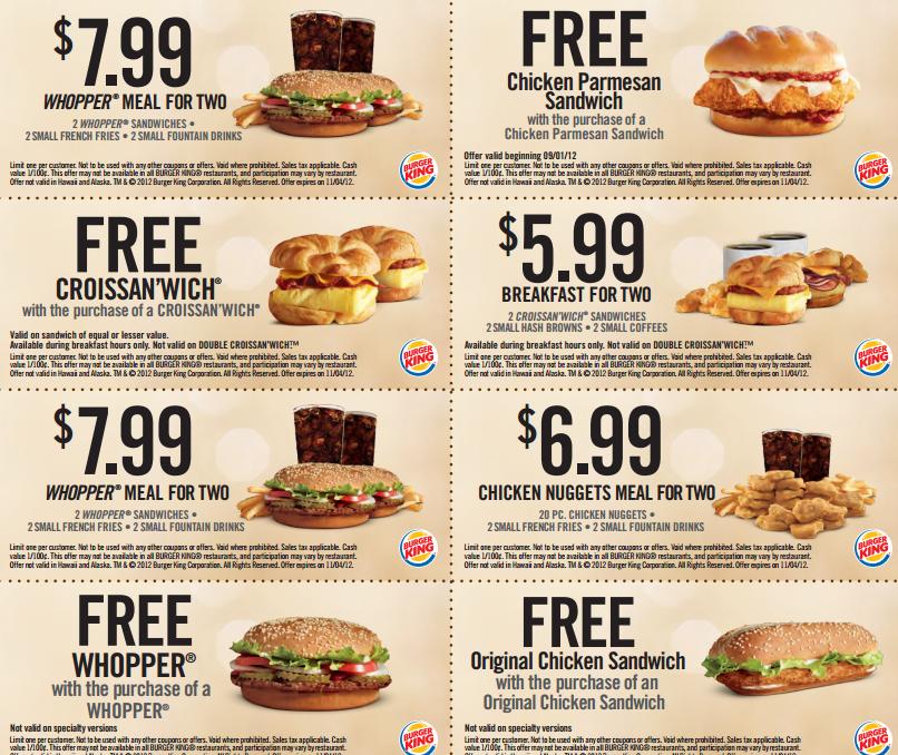 Burger king promos - Ticket master voucher codes