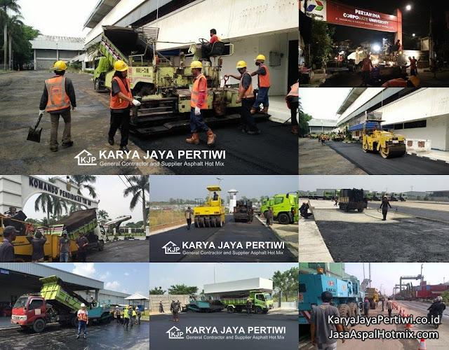 Jasa Pengaspalan Cilegon, Kontraktor aspal hotmix cilegon, Jasa pengaspalan Banten