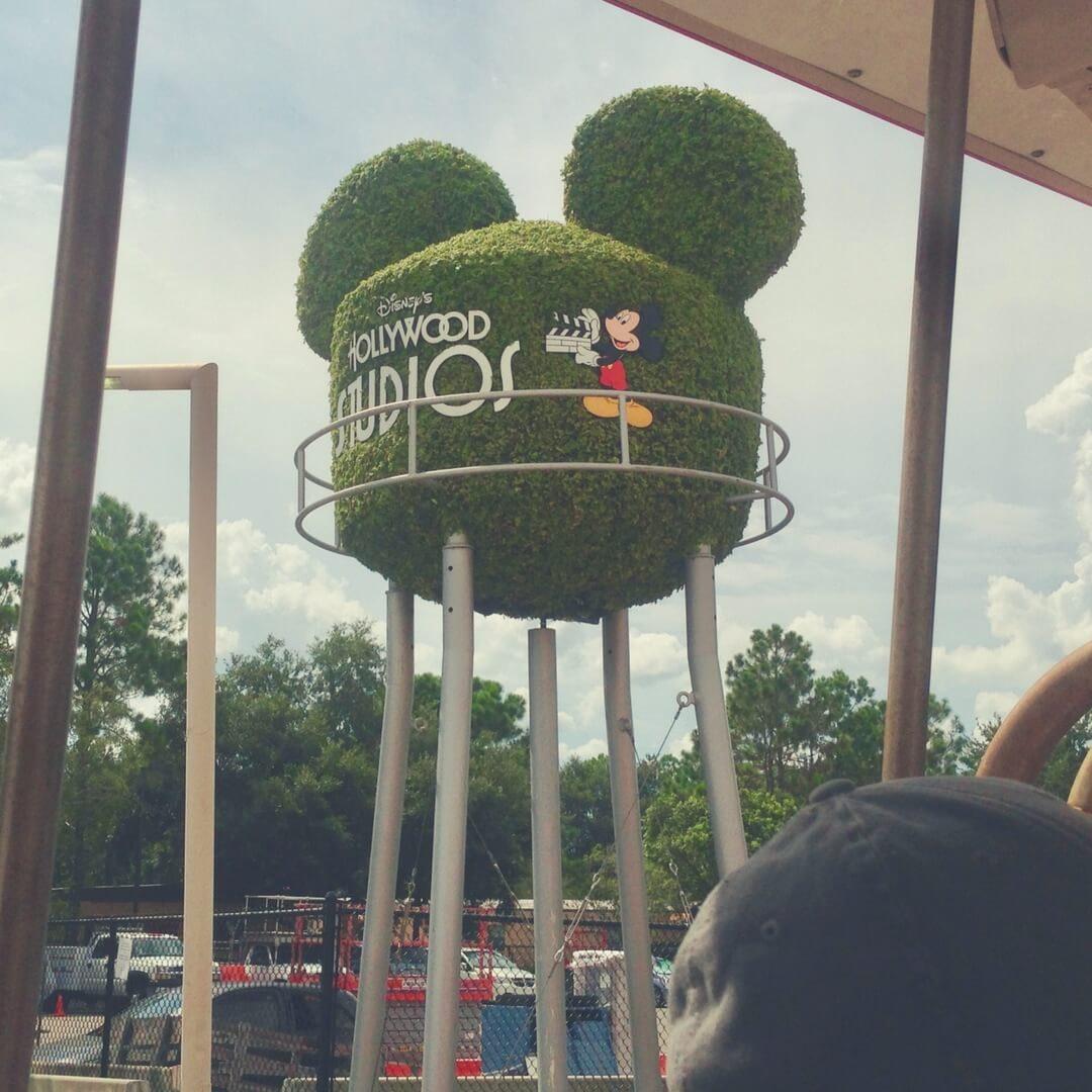 Photo of the hedge water tower that could be seen on Backlot Tour in Hollywood Studios. Image for The best rides at Hollywood Studios.