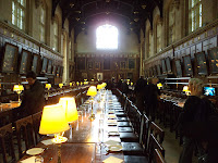 Dining Room Christ Church College Oxford Harry Potter