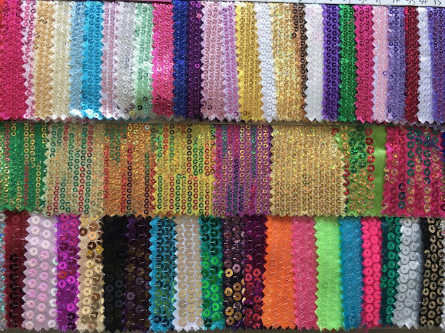 sequin swatch from master creation international ltd