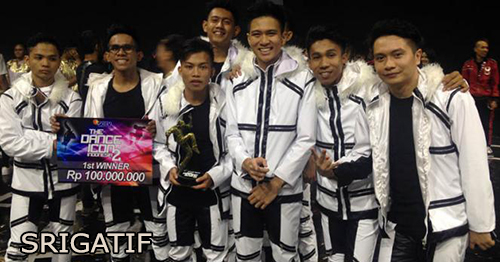Srigatif Juara The Dance Icon Indonesia 2