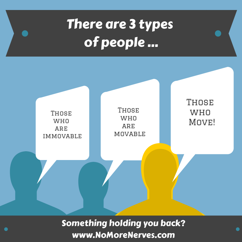 3 Types of People - NoMoreNerves.com