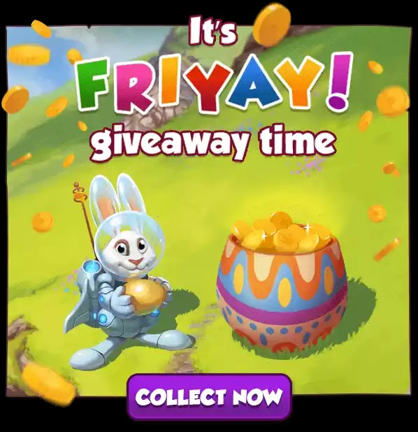 Coin master: It's Friday giveaway time