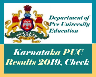 PUC Result 2019, Karnataka 2nd PUC Result 2019, Karnataka 1st PUC Result 2019