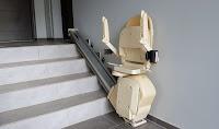 Szyna jezdna krzesełka Acorn Superglide mocowana do ściany