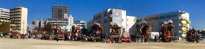 令和の門真の発展を願ってだんじり・太鼓台パレード」--- Hope and Well Wishes for Kadoma-shi in the New Reiwa Era Danjiri and Taiko Drum Parade (11/23/19) - pt.7 - The Performances