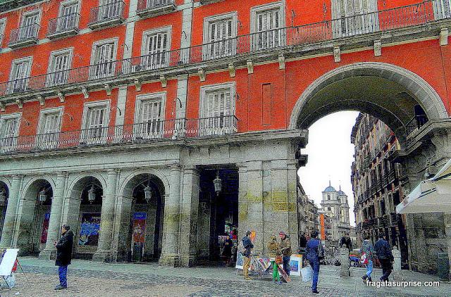 Madri, Arco de Toledo