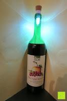 Erfahrungsbericht: GHB Tischlampe LED Beleuchtung Bottle Light Flaschenlicht Kork Wiederaufladbares USB LED Lampe inkl. Akku 2 er Set f¨¹r Party Garten Bar Weihnachten [Energieklasse A+] [Energieklasse A+]