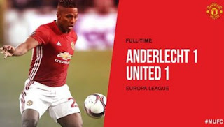 Video Cuplikan Gol Anderlecht vs Manchester United 1-1