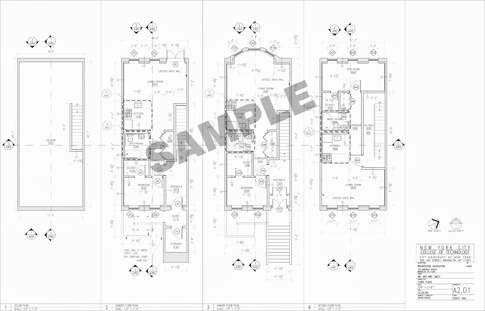 Samples: Brownstone Construction Documents