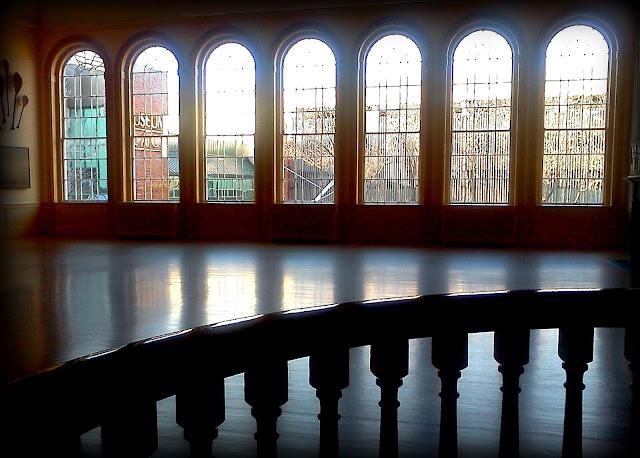 East India Marine Hall, Peabody Essex Museum,  Salem, Massachusetts, shadow, reflection, silhouette