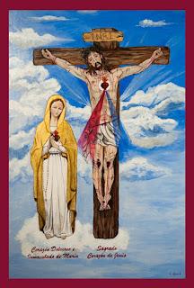 Cuadro Apostolado Sagrados Corazones Unidos