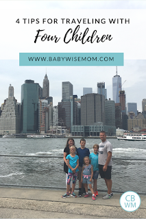 The Best Tips for Traveling with Four Kids. Travel tips for families with toddlers, preschoolers, and children.