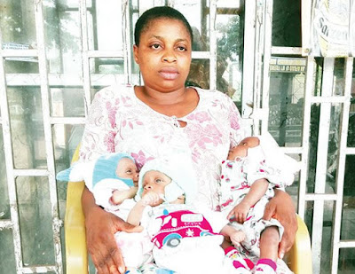 Husband Abandons Wife, Flees After She Gave Birth To Triplets