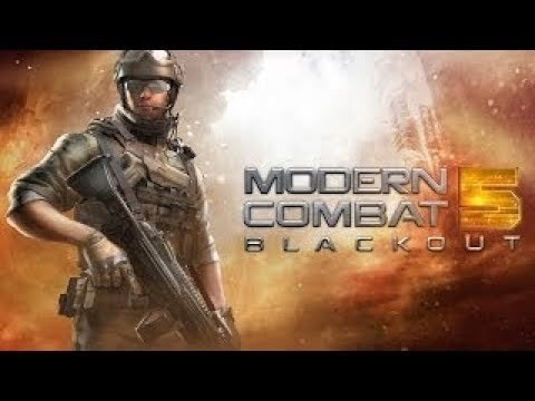 Great game for android  in 2018 (Modern Combat 5 -  Game Trailer )