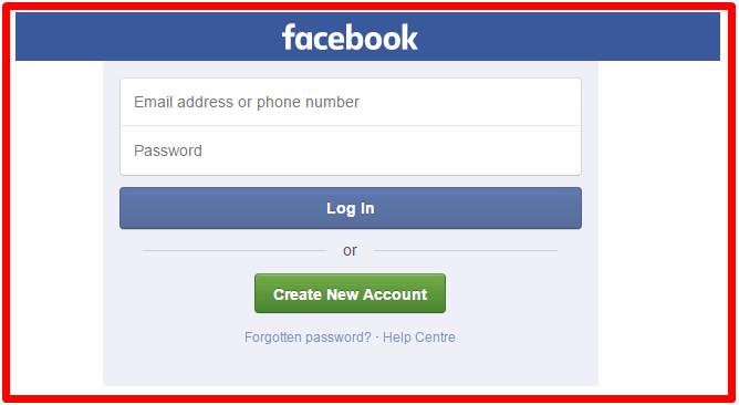 Login my facebook How To