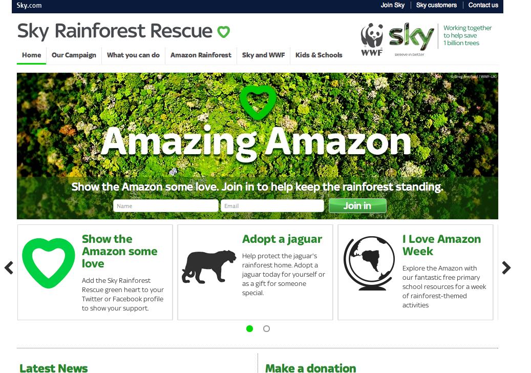 Marketing Murmur: Amazon WWF LOVE SapientNitro Sapient