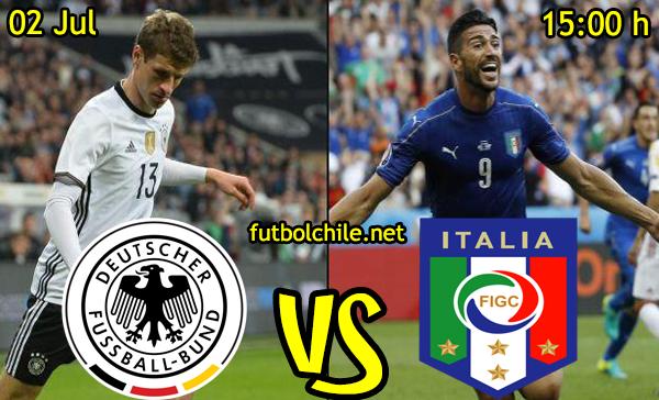 VER STREAM RESULTADO EN VIVO, ONLINE: Alemania vs Italia