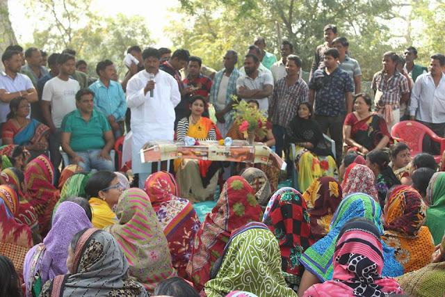 1 Election campaining at pathuri under Bangriposi Constituency by Sudam Marandi, BJD Leader