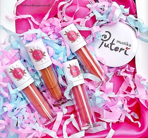 [REVIEW] Mustika Puteri Lips Licious Lip Cream Matte (Cotton Candy, Caramel Apple, Pink Lollypop, Soda Pop)
